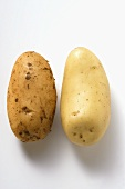 Two different potatoes