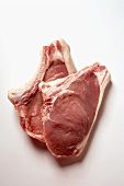 Two veal cutlets