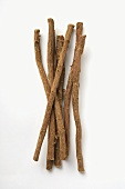 Several liquorice roots