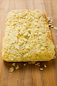 Bee sting cake with flaked almonds