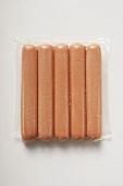 Frankfurters in packaging