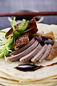 Peking duck (close-up)