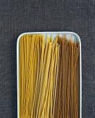 Spaghetti, spaghetti alla chitarra & wholemeal spaghetti