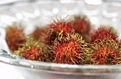 Bowl of rambutans