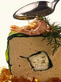 Shrimp and fish terrine