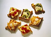 Twisted puff pastries