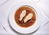Salmon in Cranberry-Vinegar Sauce