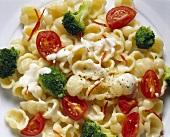 Gnocchi Salad with Broccoli & Tomatoes