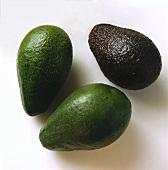 Three Assorted Avocados