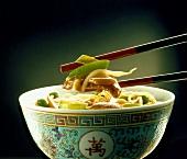 Goreng with chicken (China)