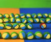 Coloured liquorice sweets