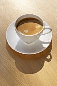A cup of caffè crema