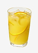 Brass Monkey (cocktail of orange juice, vodka and rum)