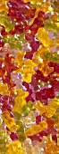 Gummi bears (filling the picture)