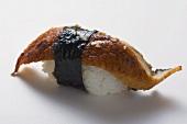 Nigiri sushi with mackerel