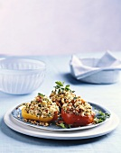 Stuffed peppers with rice filling