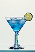 Blue Margarita (Tequila and Blue Curaçao)