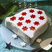 Bell-shaped Christmas cake