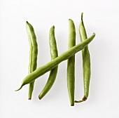 Five green beans