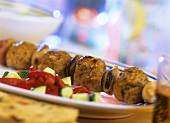 Minced lamb souvlaki (Greece)