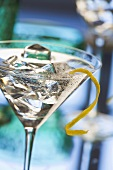 Gin Tini (Cocktail made with gin and Extra Dry Vermouth)