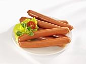 Bockwurst sausages