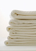 Pile of white towels