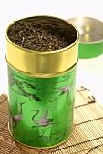 Tea in a tea caddy