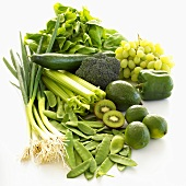 Five-a-day: green fruit and vegetables