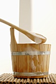 Bucket and ladle (sauna accessories)