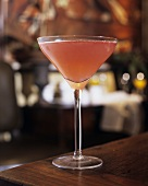 A glass of Cosmopolitan