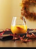 Pfirsich-Muskat-Drink