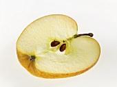 Eine Apfelscheibe