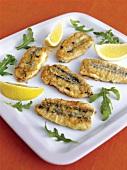 Alici ripiene (Stuffed anchovies)