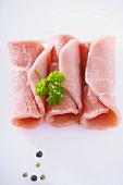 Pork roulades
