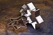 Star-shaped biscuit cutters
