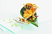 Soft shell crab with a tamarind sauce (Thailand)