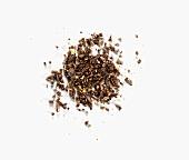Shredded coffee beans