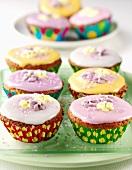 Kleine bunte Törtchen (Fairy Cakes)