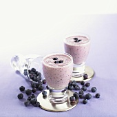 Blueberry shakes