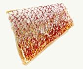 Piece of red mullet fillet