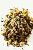 Dry herb tea