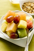 Fruit salad for a healthy breakfast