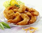 Deep-fried shrimp tails