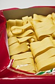 Pappardelle in packaging