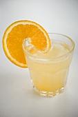 Aperitif with orange