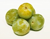 Five greengages
