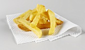 Chips on white kitchen paper
