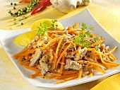 Carrot and tuna salad