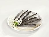 Bismarck herrings with onions